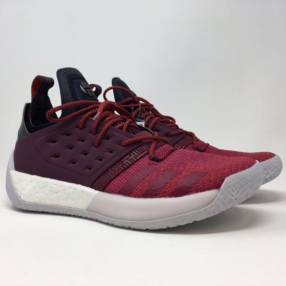 8a95f8ca134 Adidas James Harden Vol. 2 Mens Basketball Shoes